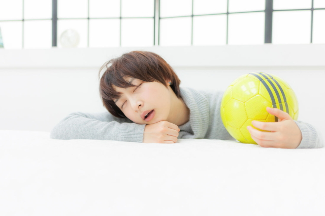 瞑眩の特徴・眠い…