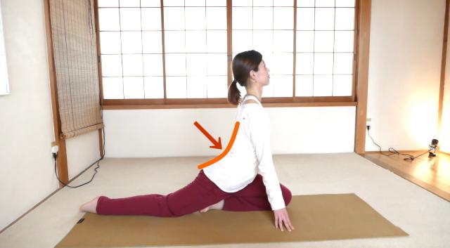 腰痛体操のコツ