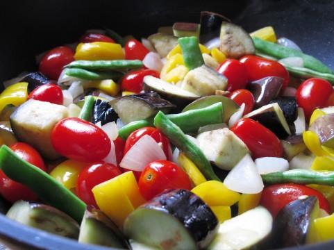 野菜の色で冷えるか温めるかを見極める