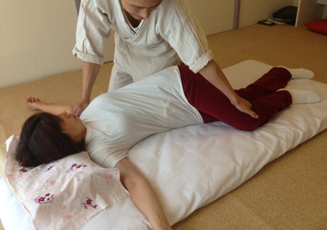 腸腰筋への施術