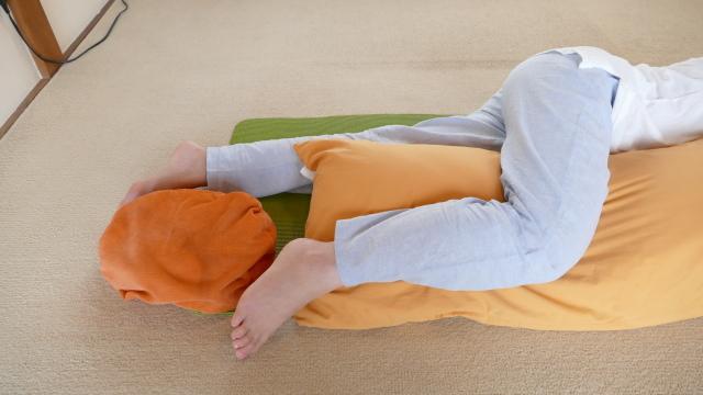 パーフェクトな腰痛の寝方