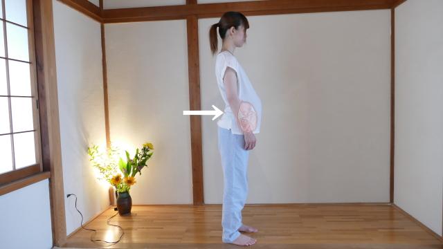 妊娠と反り腰