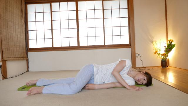 腰痛の起き方