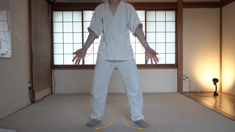 力の抜ける股関節の動き