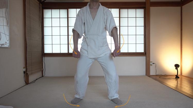 股関節の動きと気の使い方