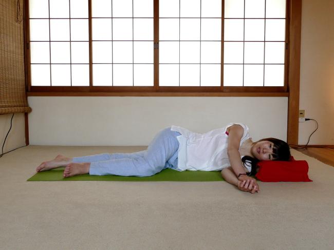 横臥位の姿勢