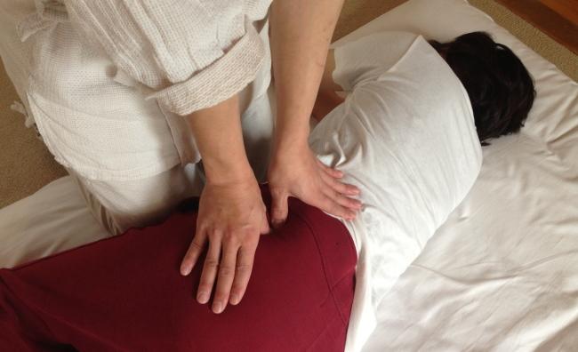 雑魚湯神経痛の施術法