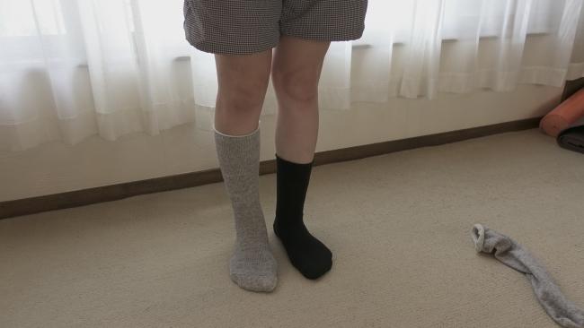 靴下のサイズ