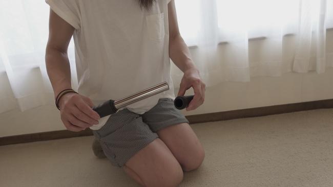 腹筋ローラーの組み立て方
