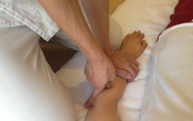腕が痛いときの施術法