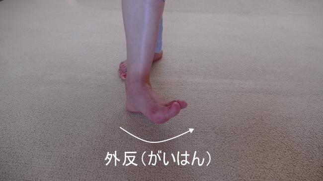 第3腓骨筋と外反