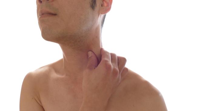 胸鎖乳突筋の触診